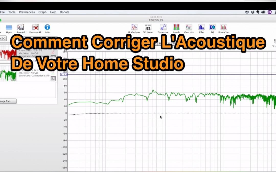 Comment Corriger l'Acoustique de votre Home Studio