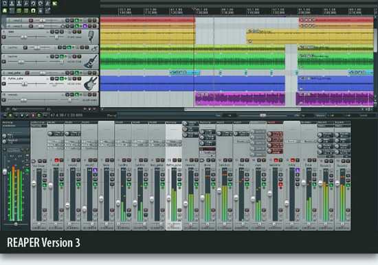 mixage audio