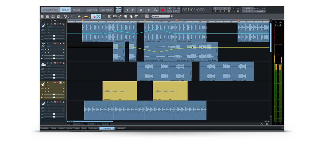 Les outils du mixage audio