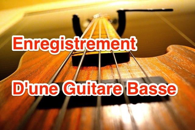 #06 [DeM] Enregistrement d'une guitare basse avec une carte son externe
