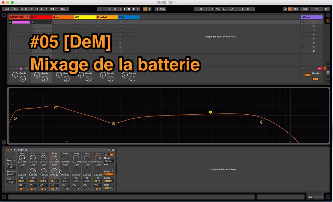 #05 [DeM] Mixage de la batterie