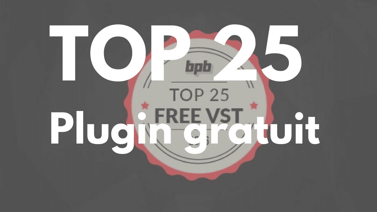 Le TOP des 25 plugin audio Gratuit pour ton home studio