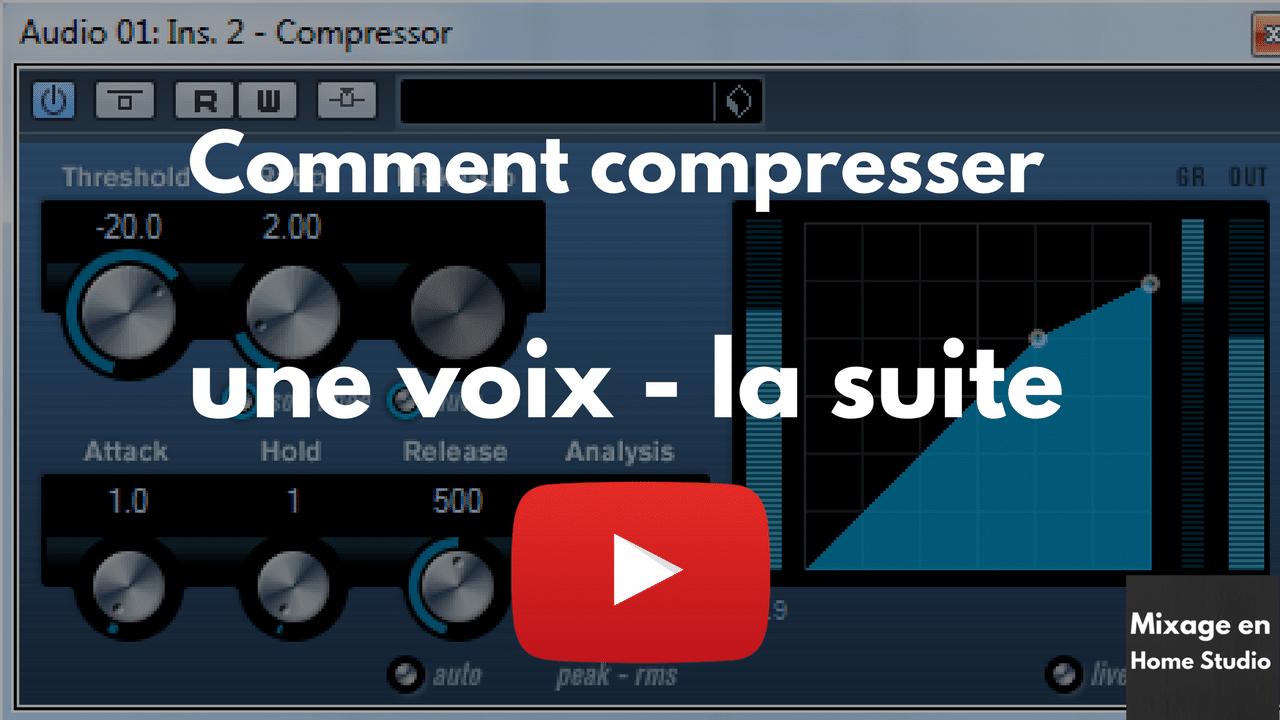 Comment Compresser une voix avec cubase, Pro tools, Logic ou Ableton