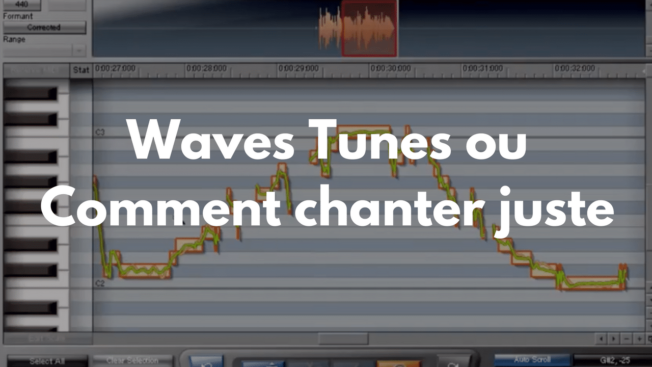 Plugins Waves Tune ou comment Chanter juste