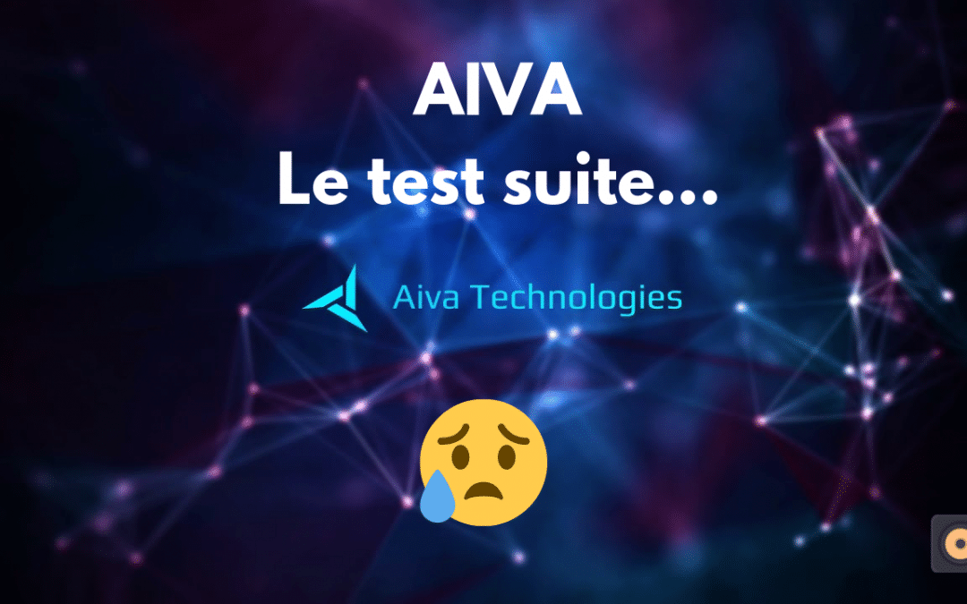 Aiva music –  Suite du test et déception
